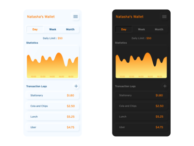 Money Manager App UI
