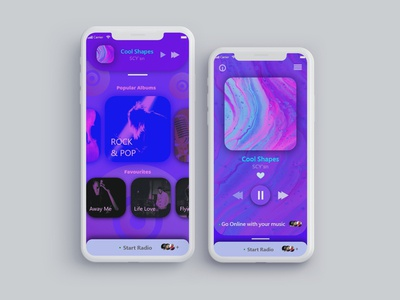 IOS Music App Design