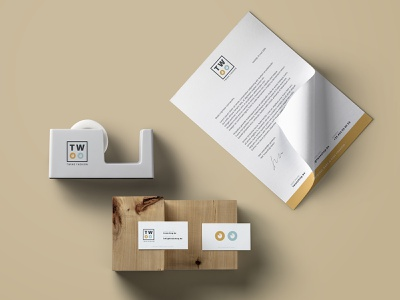 Branding for a personal project letterhead business cards logo design stationary identity branding