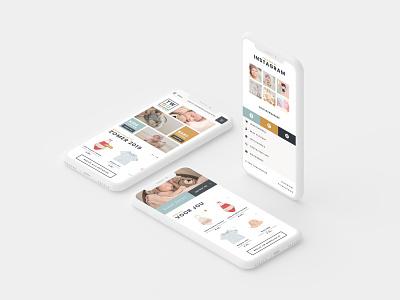 Responsive fashion ecommerce project kids fashion fashion shopping cart landing page webdesign branding webshop online shop shopping ecommerce ux ui responsive
