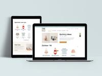 Kids fashion e-commerce