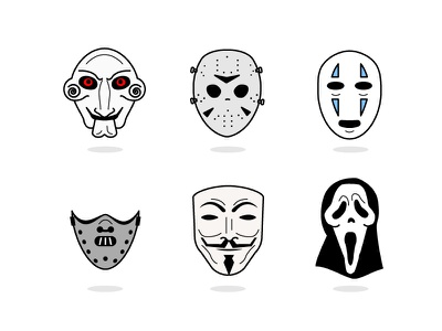 Mask Series Icon   illustration mask icon