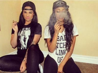 Weed pretty girls smoking Girls Just