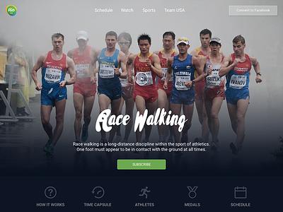 Rio Olympics Racewalking athlete sports rio nbc ui olympics race-walking website
