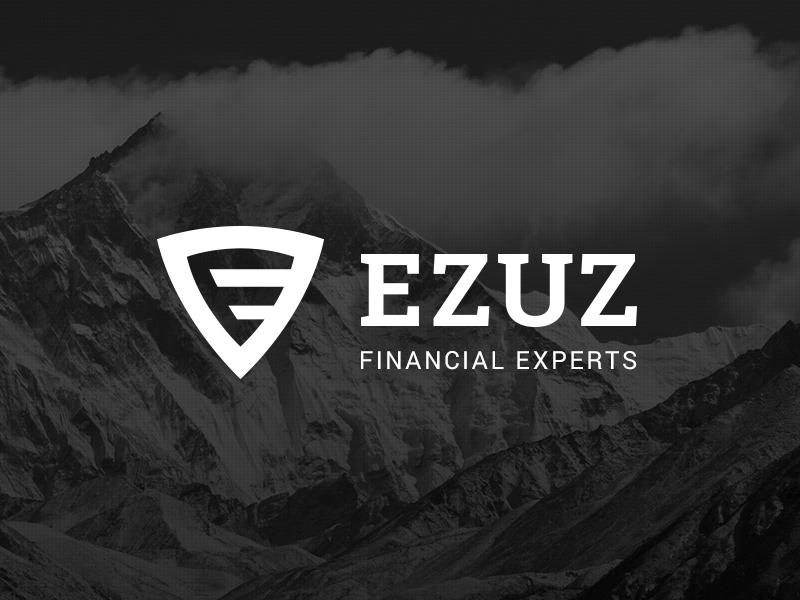 Ezuz Financial Experts Logo brand e logo branding identity financial finance