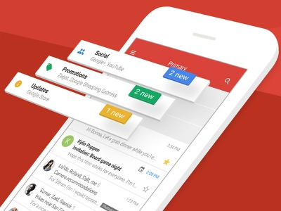 Official Gmail AppStore Design ios appstore app ui gmail aso google