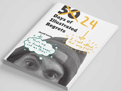 Regrets procreate print design illustration