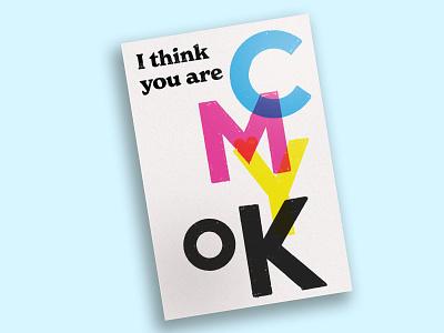 I think ur ok V-day card postcard typography feels scca design