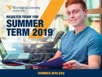 WVU Summer Term Postcards