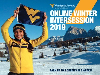 WVU Winter Intersession Postcards