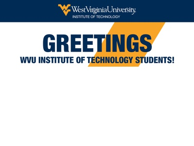 WVU Institute of Technology Greetings HTML Email