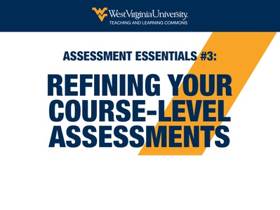 Refining Your Course-Level Assessments HTML Email