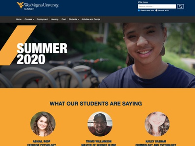 WVU Summer Term Website
