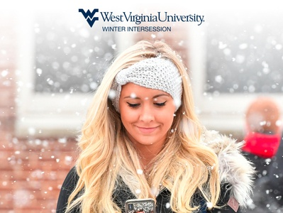 WVU Winter Intersession Information Screen Ad