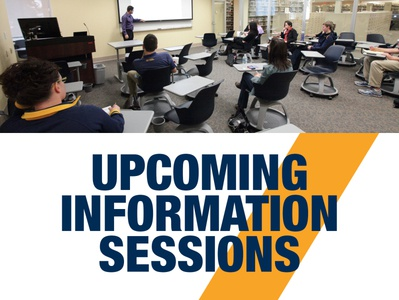 Upcoming Information Sessions HTML Email