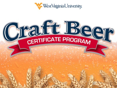 WVU Continuing and Professional Education Craft Beer Postcard