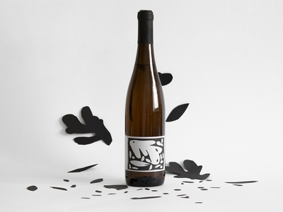 Garden Wine visual identity branding design illustration label labeldesign graphicdesign wine label