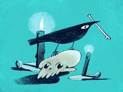 Spooky Shot haener halloween design halloween illustration spooky andrew haener