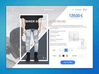 Represent Clothing Product Page