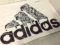 Adidas Illustration Drawing