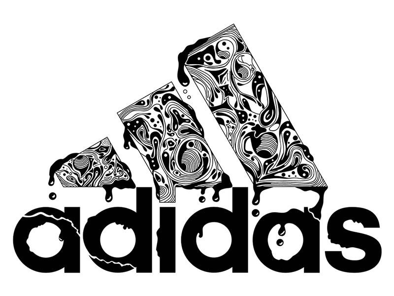 Pareja Pogo stick jump núcleo  Adidas Illustration by Daniel Fass on Dribbble