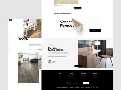 Kaindl - Floors And Boards From Salzburg Product Overview wood website web design ux ui pixelart modern kaindl product page design corporate photo interface adobe xd