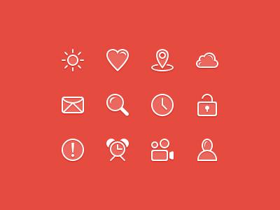 Line Icons line flat icon icons