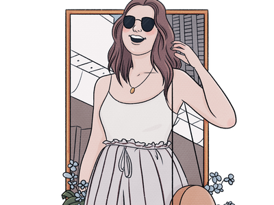 A Drawing of Lucy Moon