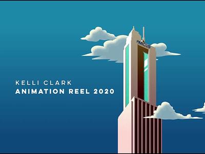 2020 Reel freelancer colors motion digital art animator motion designer motion design character animation character design vector illustration gif animation vector color designer showreel reel motion graphics design background design animation
