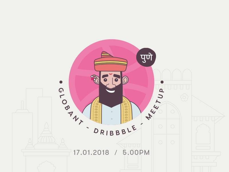 Globant Dribbble Meetup - Pune 2018 2018 india pune meetup dribbble globant