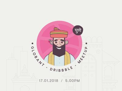 Globant Dribbble Meetup - Pune 2018