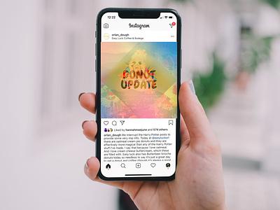 Orlandough Social Media dreamy color social media design food and beverage branding design brand identity brand design illustrative branding design branding