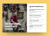 Daily UI #091 - Curated For You
