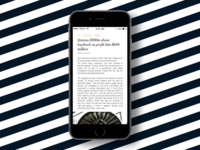 Daily UI #094 - News
