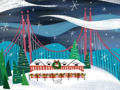 Walt Disney Family Museum Holiday Card 2018