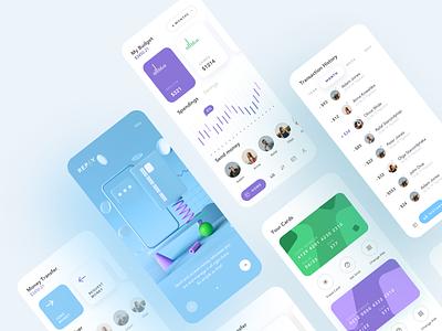 Repay creative branding minimal illustration flat ux app design clean ui
