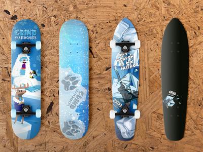 Grind Skateboards Design 2020