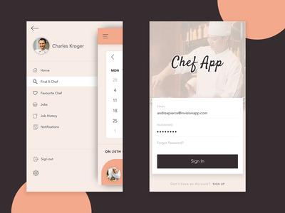 Chef App Design