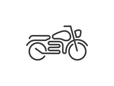 Motorcycle design graphic graphic design vector dribbble illustrations bike logo bike illustration motorcycle illustration motorcycle logo logo lineart motorbike bike motorcycle illustration