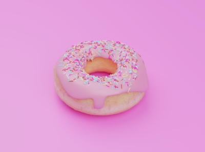 Donuts visual design visual art illustration food and drink design concept 3d art