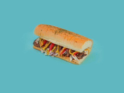 The Sizzlr Sandwich tasty sandwich branding 3d art visual art food and drink visual design
