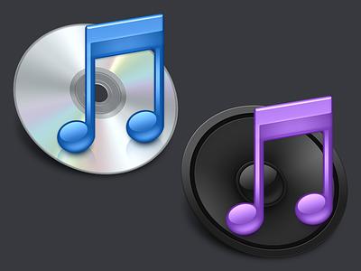 iTunes icon itunes cd speaker