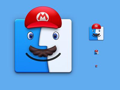 Finder Mario nintendo design icon odyssey mario finder