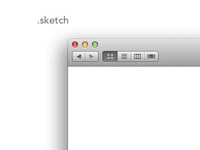 Finder Window finder window sketch sketch.app os x