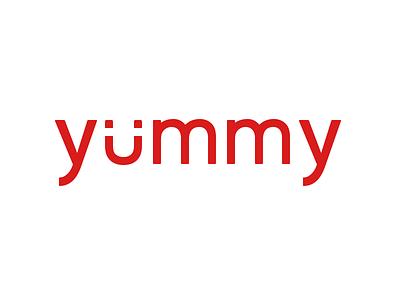 Yummy snack bar food yummy logo