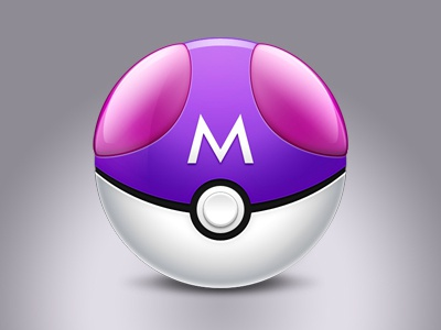 Master Ball master ball poke ball icon pokemon pokeball masterball