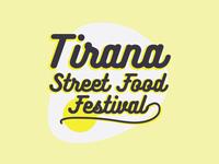 Tirana Street Food Festival / Brand Concept - 2019