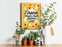 Tirana Street Food Festival / Brand - Poster Concept Proposal