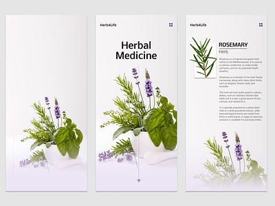 Herbal4Life - App app ui