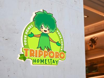 Tripporo Homestay - Logo vector design illustration logo logodesign branding